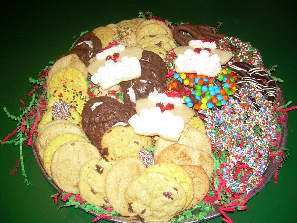 CHRISTMAS COOKIE TRAY-