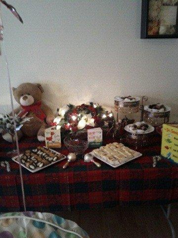 CHRISTMAS IN JULY DESSERT STATION-