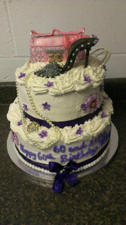 60th Birthday cake-