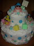 NKOTB Shower Cake-